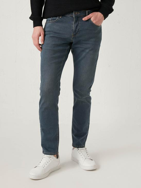 INDIGO - 750 Slim Fit Men's Jeans - S14157Z8
