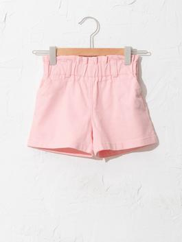 PINK - Basic Baby Girl Gabardine Shorts