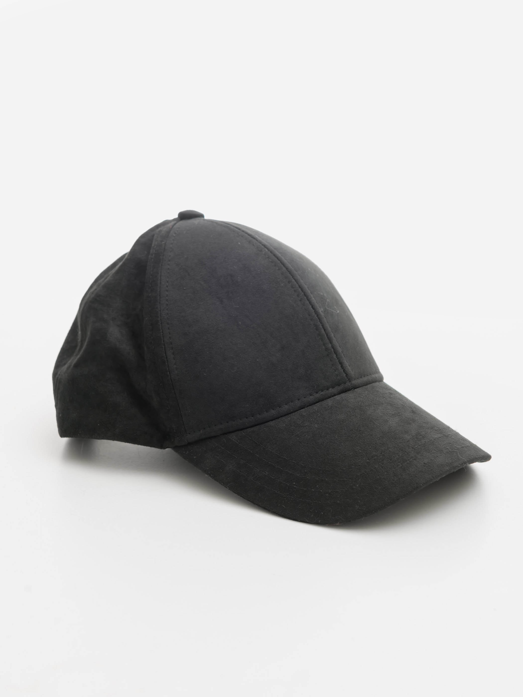BLACK - Suede Hat - 0W1061Z8