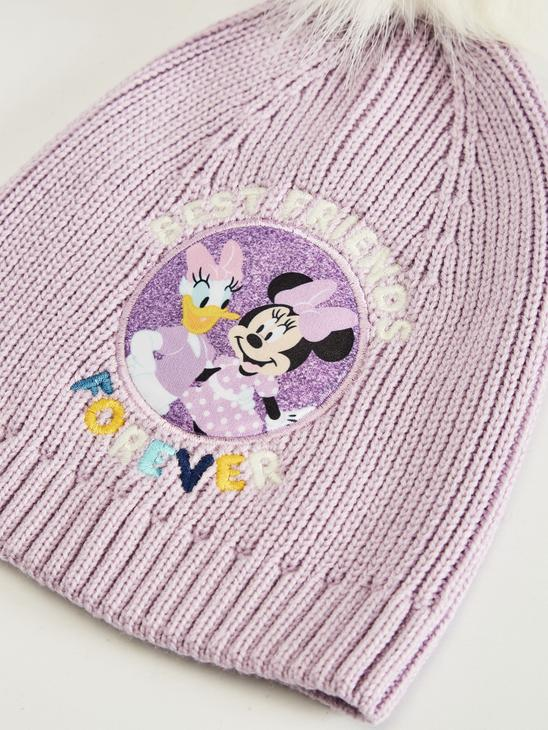 LILAC - Girl's Minnie Mouse Licensed Knitwear Beanie - 0WEN24Z4