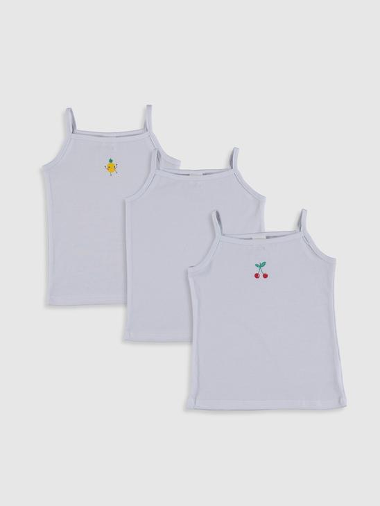 WHITE - Suspended Baby Girl Athlete 3 Pieces - 0SAA73Z1