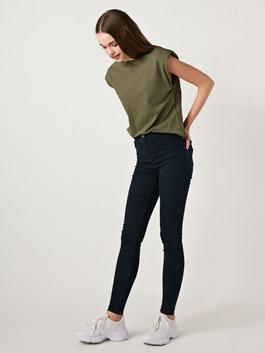 INDIGO - High Waist Super Skinny Women Jean Trousers