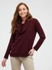 BORDEAUX - Shawl Collar Knitwear Sweater - 0WIU93Z8