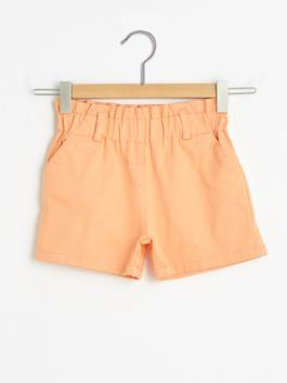 CORAL - Basic Baby Girl Gabardine Shorts