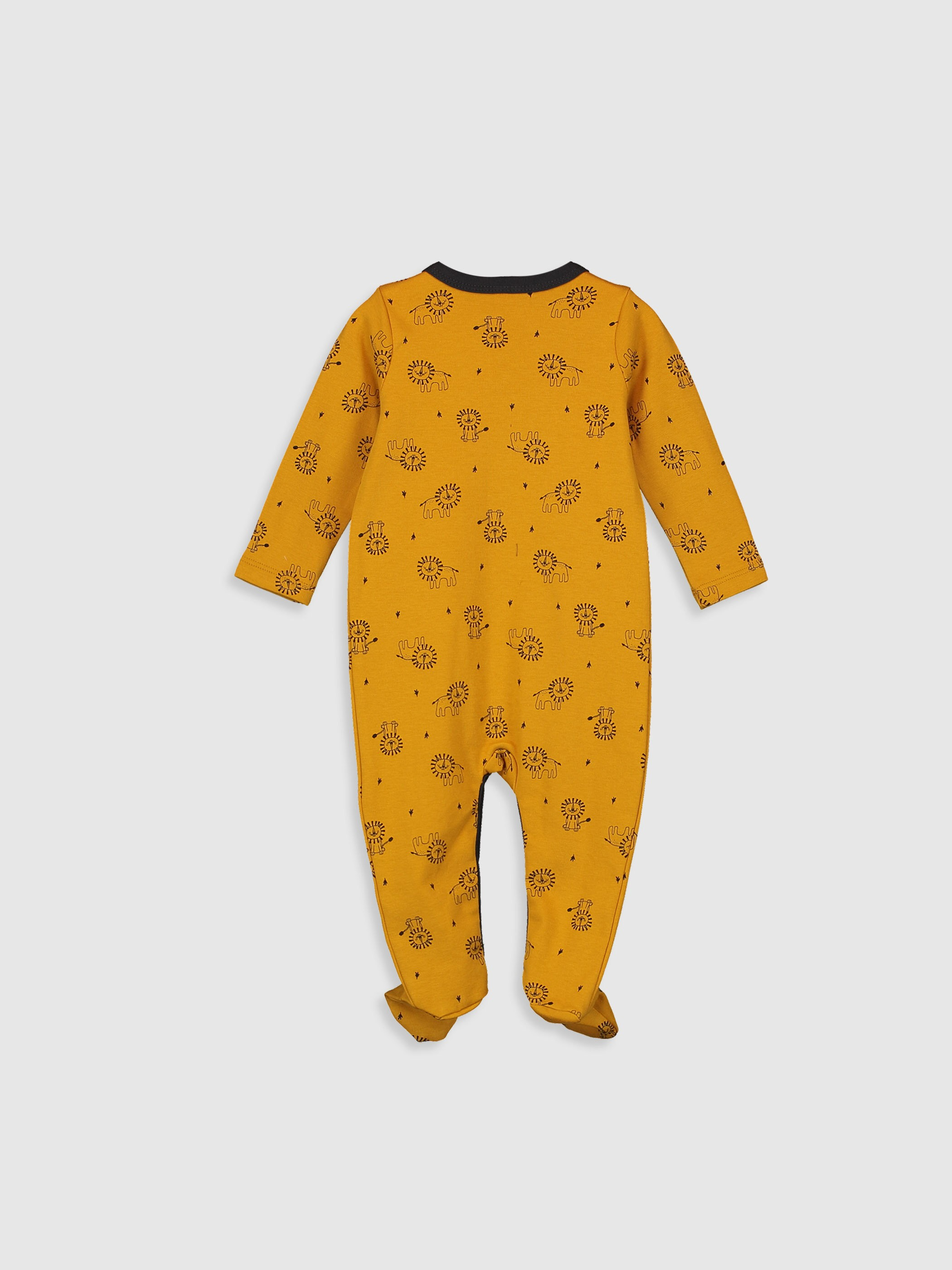 YELLOW - Baby Boy's Printed Jumpsuit - 0S8339Z1