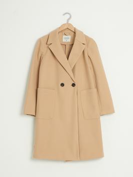 PINK - Button-Down Peacoat