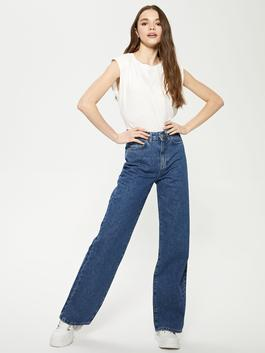 INDIGO - High Waist Wide Fit Women Jeans