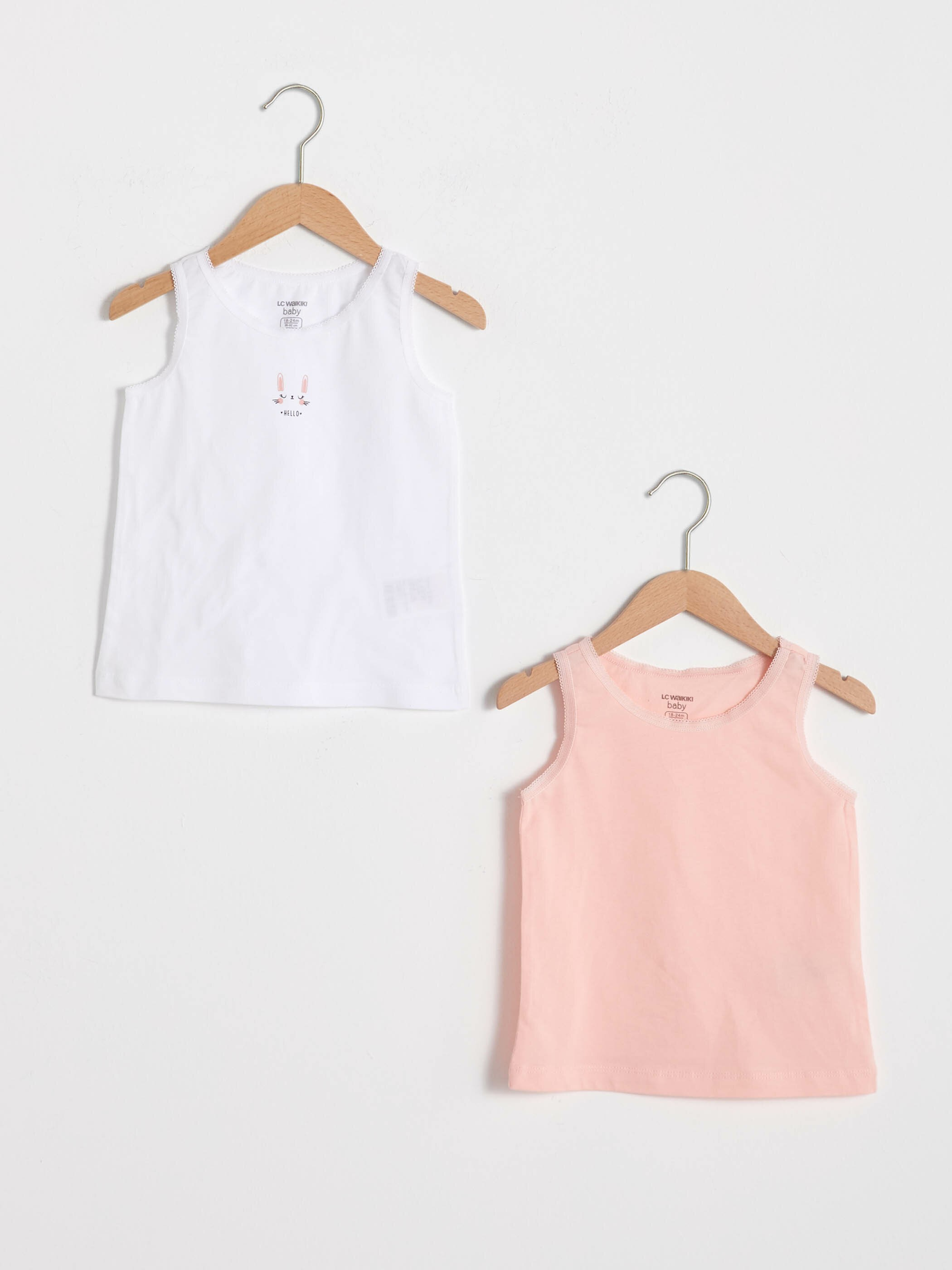 PINK - 2-pack Baby Girl's Tank Top - S13193Z1