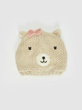 BEIGE - Baby Girl's Tricot Beret