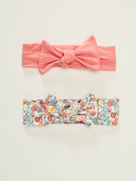 PINK - 2-pack Baby Girl's Hairband