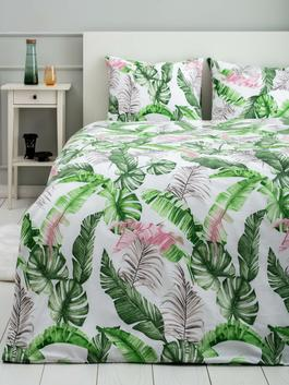 MIX - Double Patterned Woven Duvet Cover and Pillowcase