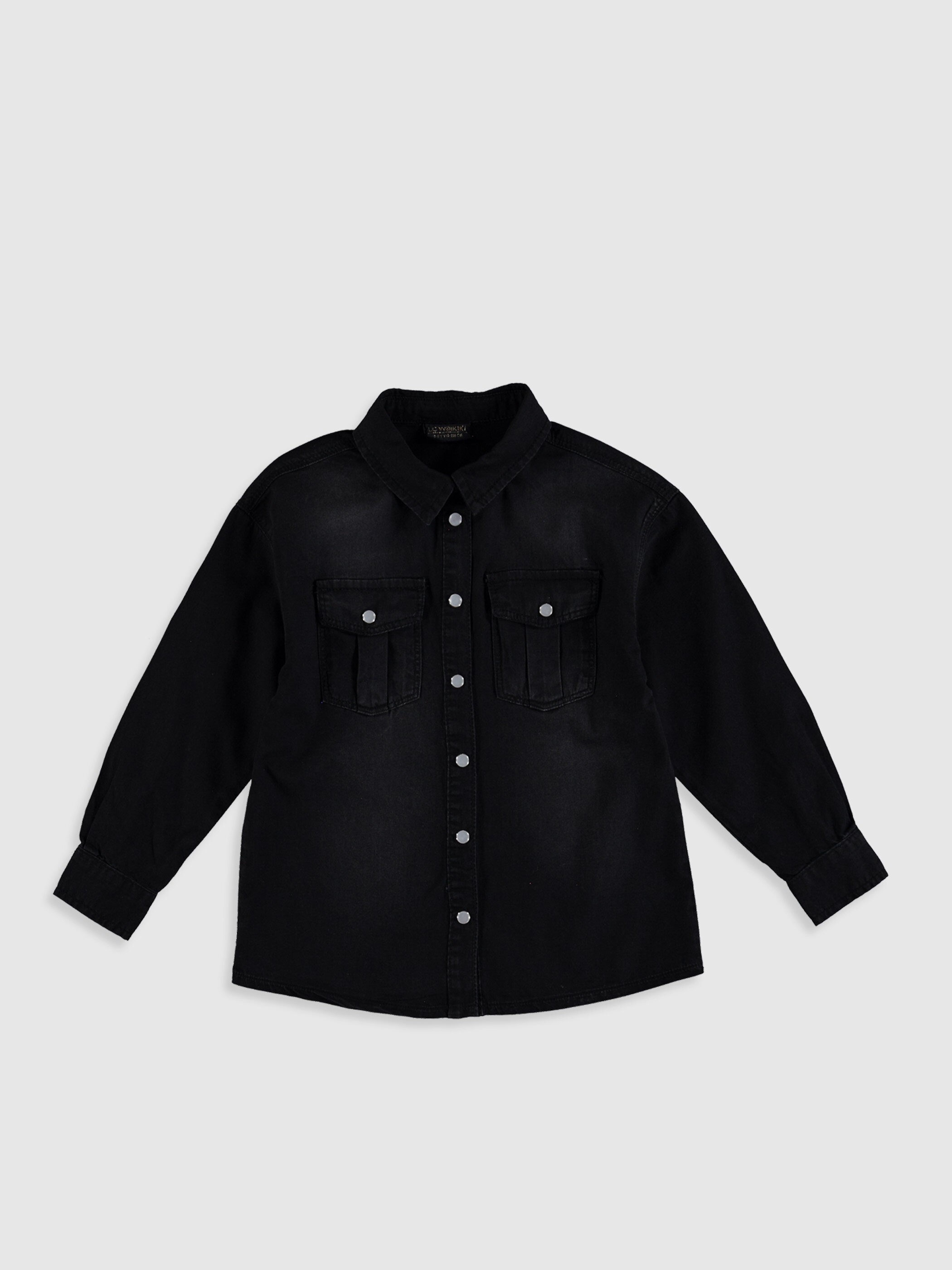 BLACK - Jean Shirt - 0SF196Z4