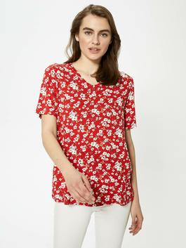 RED - T-Shirt - S1G632Z8