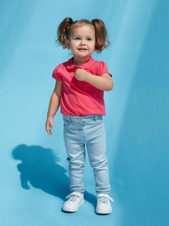 INDIGO - Basic Baby Girl Jean Trousers - S1BE97Z1