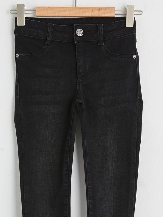 BLACK - Girl's Skinny Jeans - S1AT59Z4