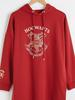 BORDEAUX - Harry Potter Printed Cotton Tunic - 0WHY44Z8