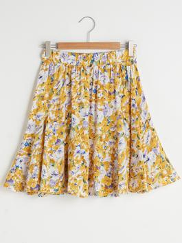 YELLOW - Skirt - S1EH46Z8