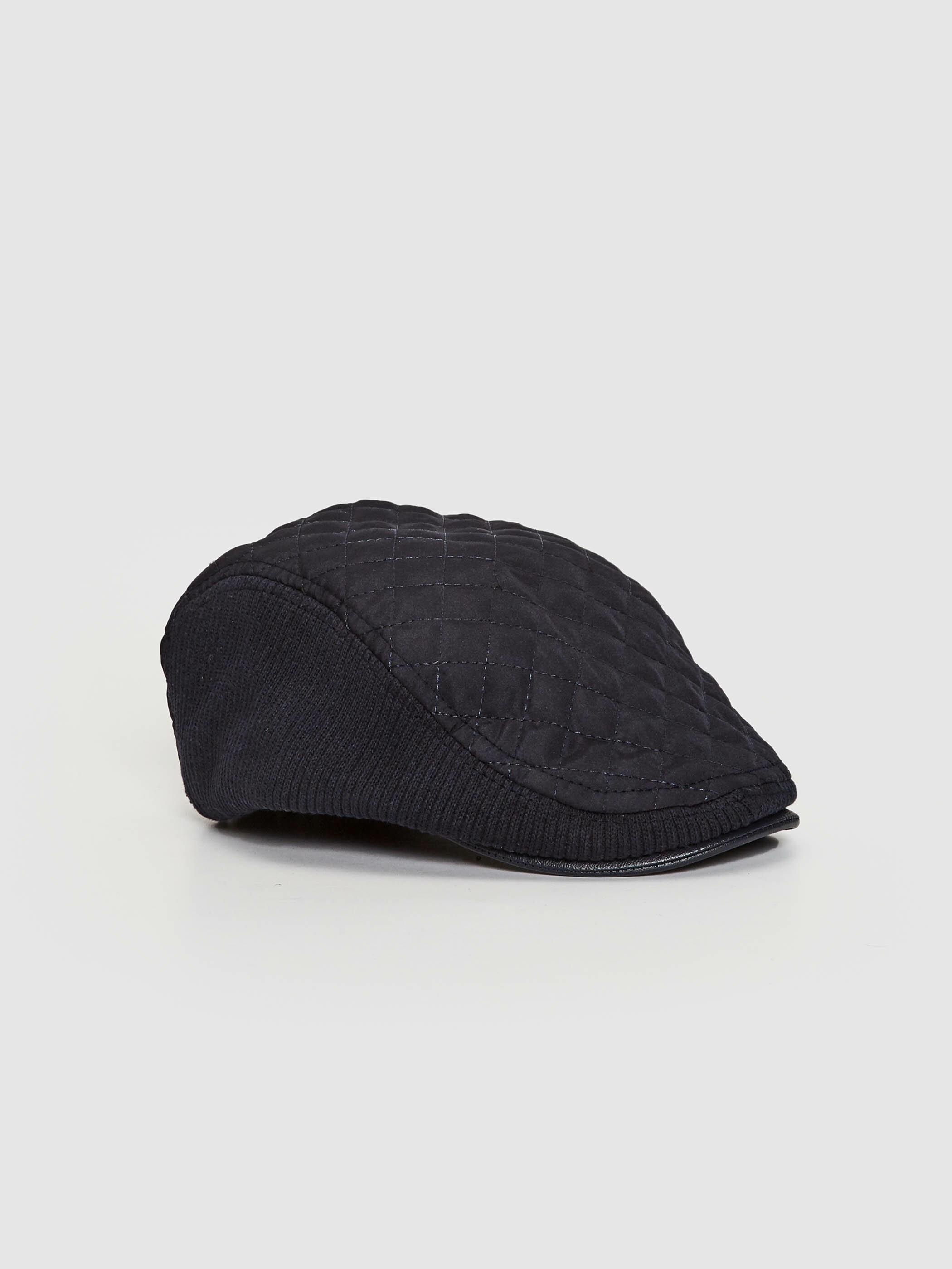 NAVY - Quilted Hat - S11148Z8
