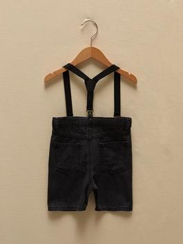 ANTHRACITE - Jean Shorts - S1GS16Z1
