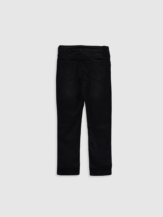 BLACK - Slim Fit Girl Trousers - 9WH911Z4