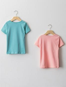 TURQUOISE - T-Shirt - S1K469Z4