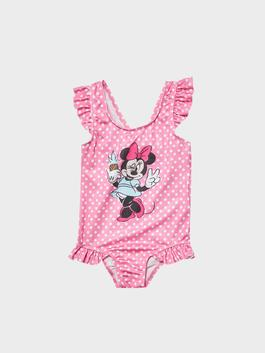 PINK - Minnie Mouse Printed Baby Girl Swimsuit - S14813Z1
