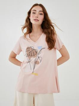 CORAL - T-Shirt - W1EE39Z8