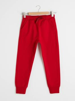 RED - Elastic Waist Boy Jogger Trousers - S10798Z4