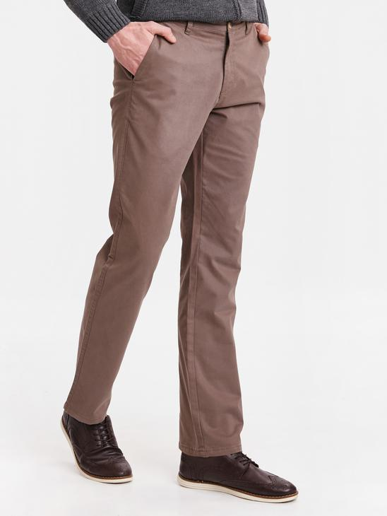 BROWN - Chino Trousers - 9S1103Z8