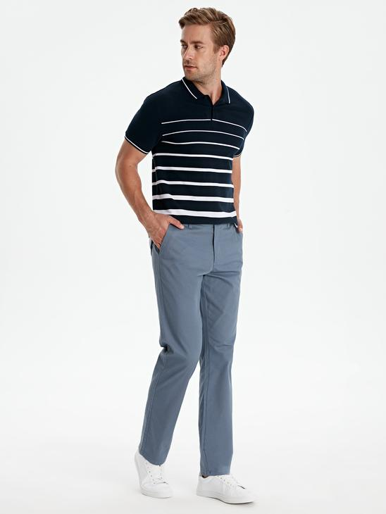 BLUE - Chino Trousers - 9S1103Z8