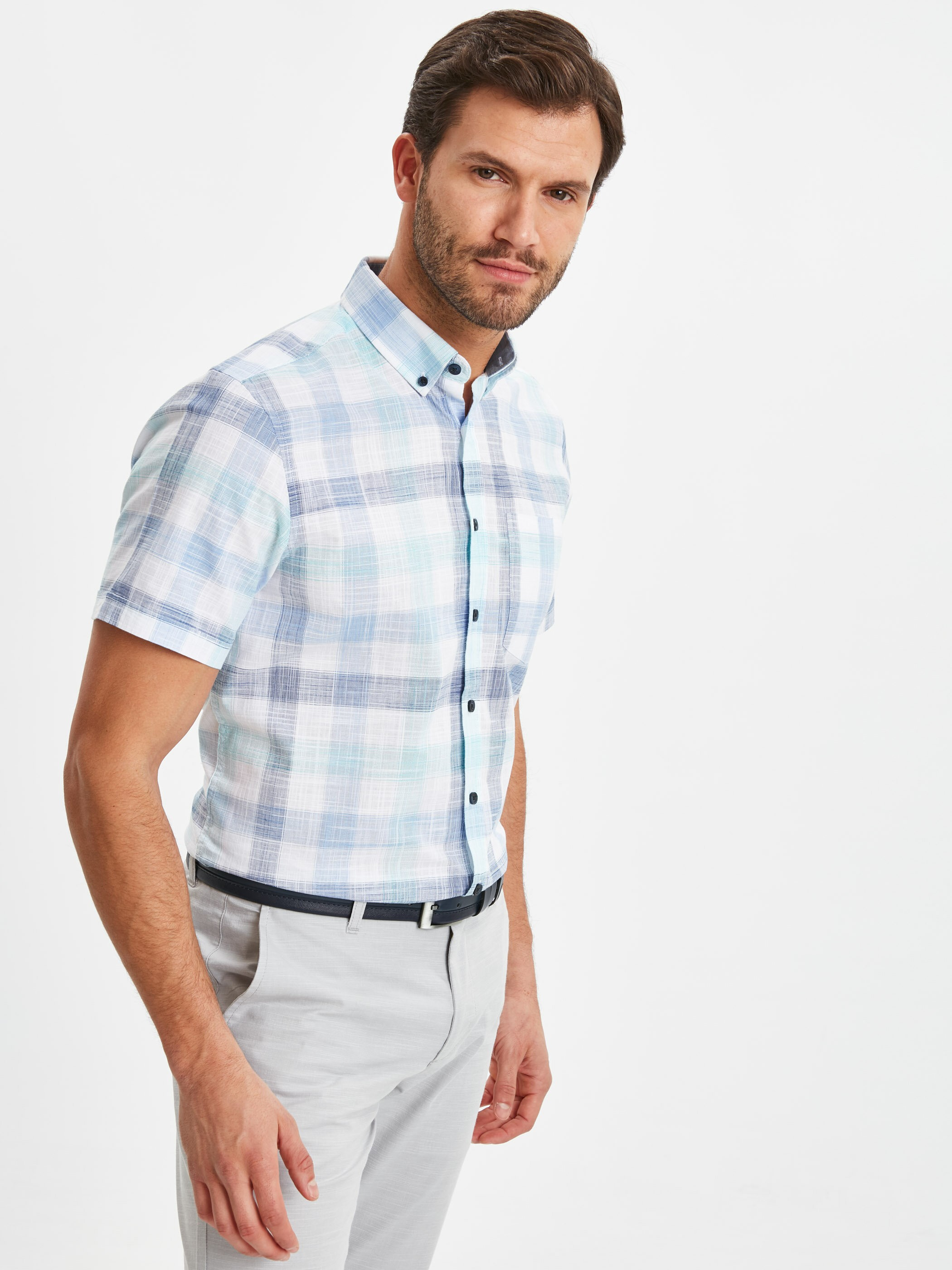 TURQUOISE - Shirt - 9S7795Z8