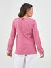 PINK - Crew Neck Printed Long Sleeve Women's Blouse - W13089Z8